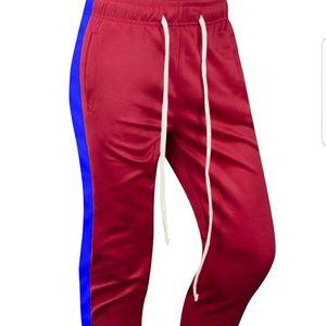 Stripe Zip Pocket Track Pants